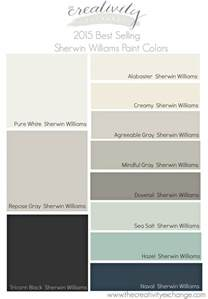 Most Popular Interior Paint Colors by 2015 Best Selling And Most Popular Paint Colors Sherwin