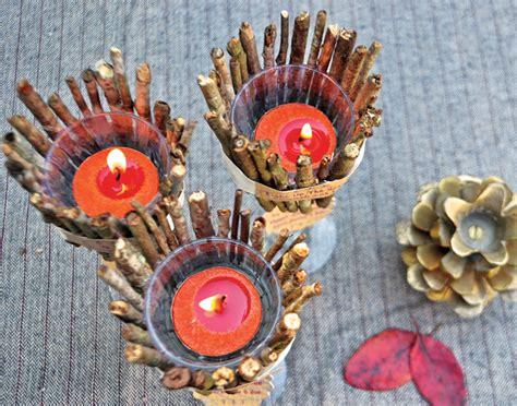 Handmade Candle Holder Ideas - diy rustic candle holders gift favor ideas from evermine