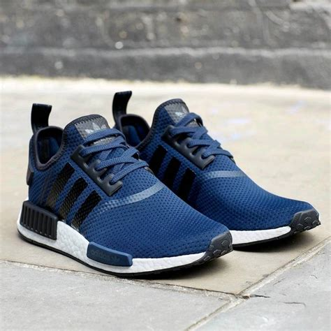 Adidas Nmd R1 Navy navy and black nmds r1 size 10 uk nmd s adidas brand new