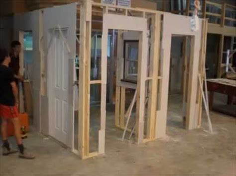 how to build a partition wall in a bedroom partition wall project 2012 youtube
