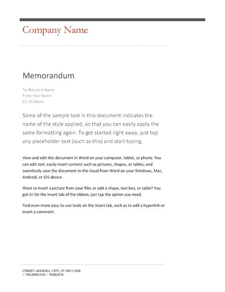 microsoft word memo template up date illustration templates