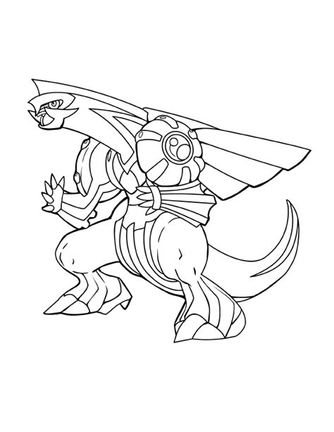 palkia coloring pages coloring pages