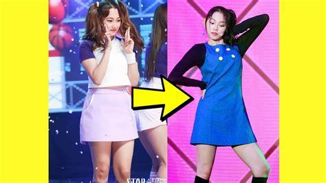 k weight loss gugudan kang mina impressive weight loss before after