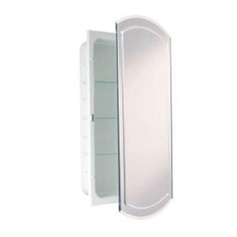 14 inch recessed medicine cabinet amazon com headwest v groove beveled mirror recessed