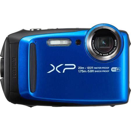 fujifilm finepix xp120 digital camera, blue