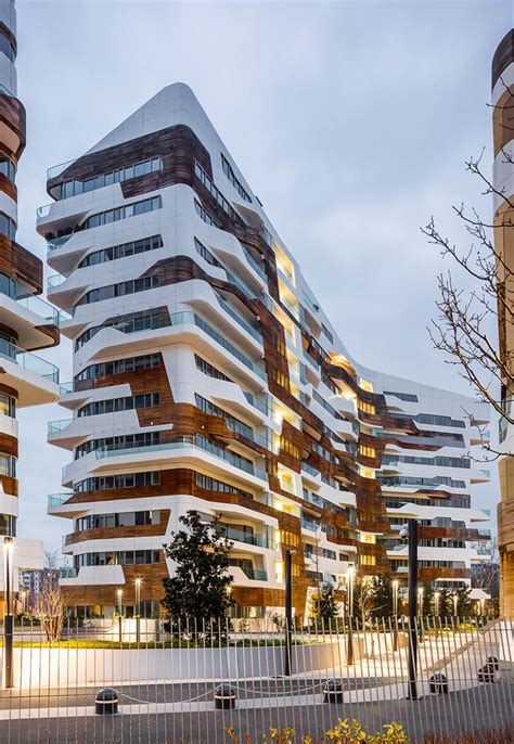 Grand Floor Plans by Citylife Milano Residential Complex Zaha Hadid