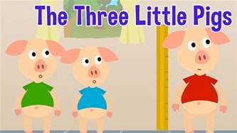 pigs animated fairy tales children