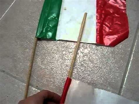 How To Make A Paper Flag - grade 1 social studies arts and crafts project make
