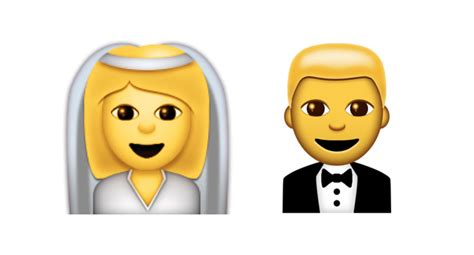 Wedding Emoji by Unicode 9 Emoji Updates