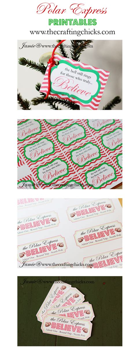 printable polar express tickets polar express mom plain simple