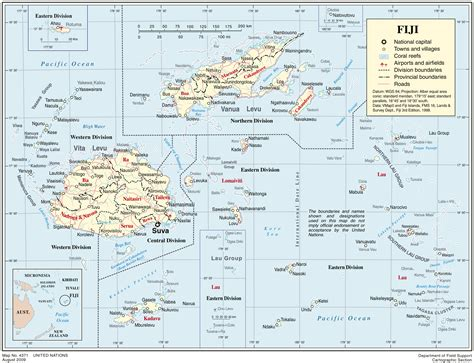 map of fiji political map of fiji fiji political map vidiani maps of all countries in one