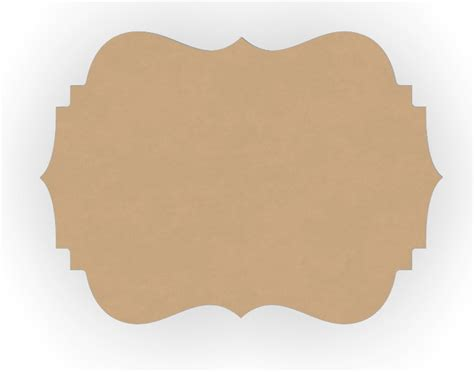 templates for wood cutouts three wood curvy plaque craft cutout shapes 1p811r