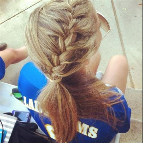 nice hairdos for soccer game soccer nice braids and my hair on pinterest