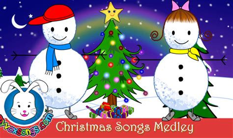 christmas songs for kids with lyrics