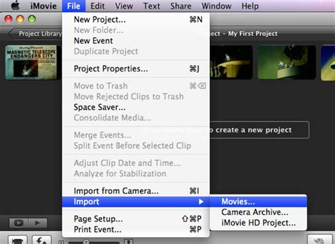 imovie tutorial import convert and import mpeg into imovie on mac leawo