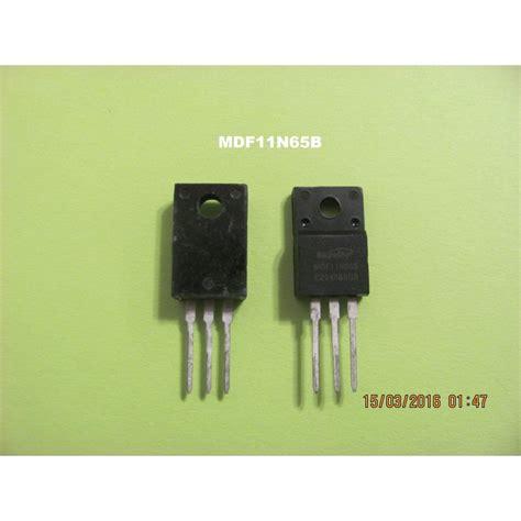 transistor mosfet toshiba mdf11n65b transistor mosfet atvpartselectronique