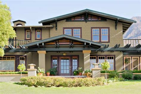 image craftsman style exterior house paint colors