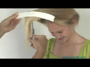 find a hairstyle using your own picture how to cut layers on childrens hair tutorial layered hairstyle youtube