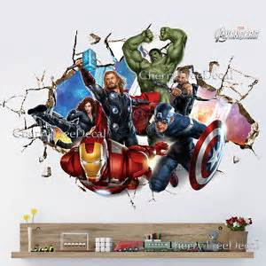 superhero wall stickers ebay lego marvel super heroes decal removable wall sticker