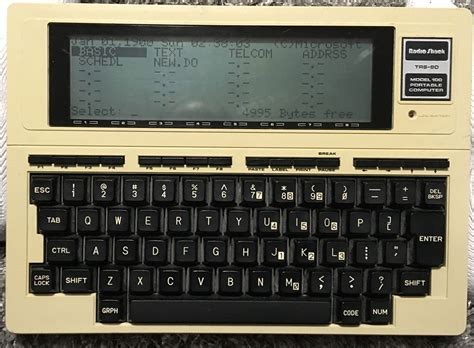 Tandy Lol by Tandy 102 60 And Radio Shack Trs 80 Model 100 Portable