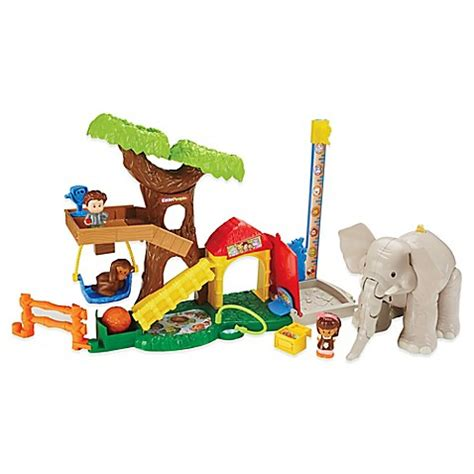 fisher price zoo animal swing fisher price 174 little people 174 big animal zoo buybuy baby