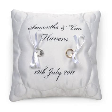 Wedding Ring Cushion by Cool Wedding Ring 2016 Personalised Ring Cushions For