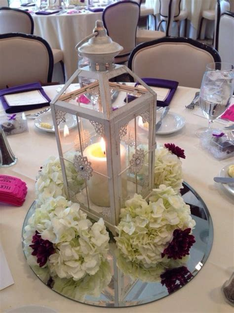 lantern bridal shower centerpiece bridal shower