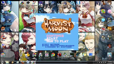 Stiker Anime Harvest Moon Karakter Utama cara bermain berbagai harvest moon di pc console iso rom