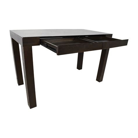 west elm parsons table 75 off west elm west elm parsons brown desk tables