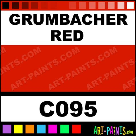 grumbacher academy acrylic paints c095 grumbacher paint grumbacher color