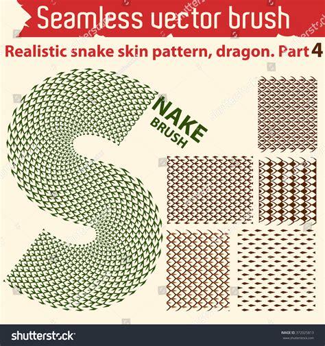seamless pattern brush illustrator vector seamless brush for illustrator realistic snake