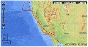 map us fault lines mapping fault lines in earthquake maps musings on maps