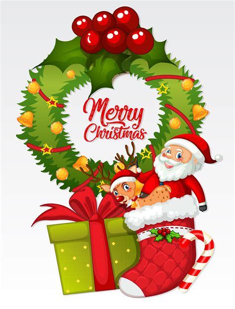 merry christmas card template   vectors clipart graphics vector art