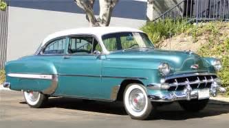 1954 chevrolet bel air 2 door sedan barrett jackson