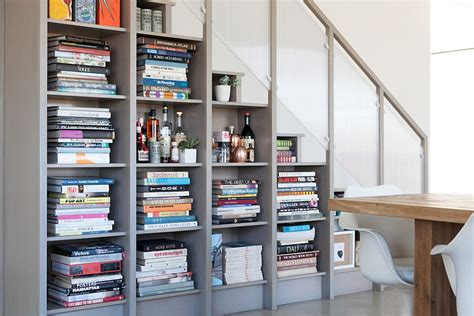 Bookcase Under Stairs 21 Unique Contemporary Staircases With A Flair For The