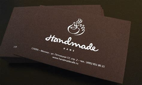 Handmade Card Company Names - cardview net business card visit card design
