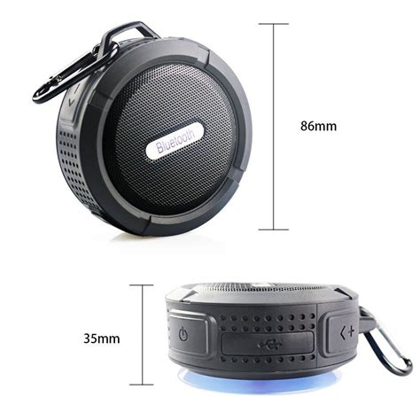 Waterproof Bluetooth Shower Speaker bluetooth shower speaker waterproof bluetooth 3 0 speaker with suction cup built in microphone