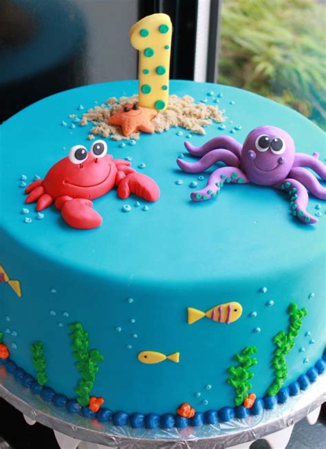 Under The Sea  Ee  Birthday Ee   Cake Whipped Bakeshop
