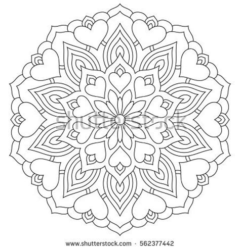 mandala coloring pages valentines valentines day page mandala coloring pages