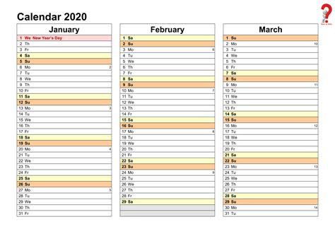 yearly planner  excel  printable calendar templates quarterly calendar