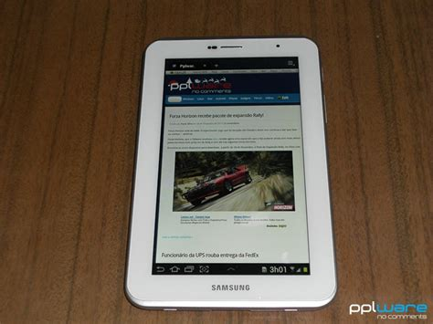 Samsung Tab 2 7 P3100 unboxing samsung galaxy tab 2 7 0 gt p3100 pplware