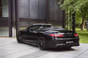 Brabus Mercedes Official 850hp Brabus Mercedes Amg S63 Cabriolet Gtspirit
