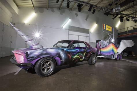 unicorn ford mustang  ebay   london pride cars