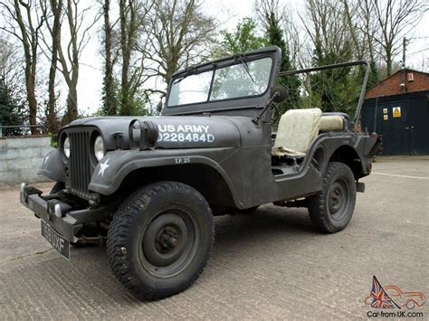 jeep army willys jeep m38a1 1953 military american usa army classic