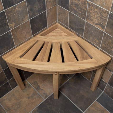 shower seats and benches solid teak corner folding shower seat