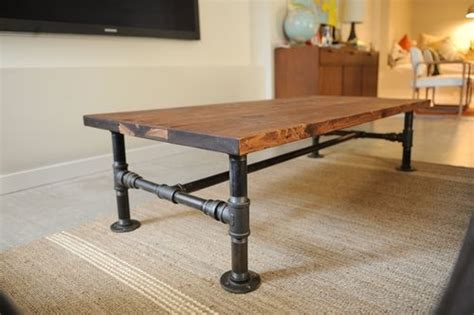 diy plumbing pipe table diy industrial coffee table with plumbing pipe base 2