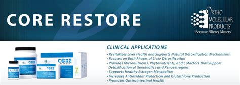 Orthomolecular Detox by Restore Kit By Ortho Molecular Products