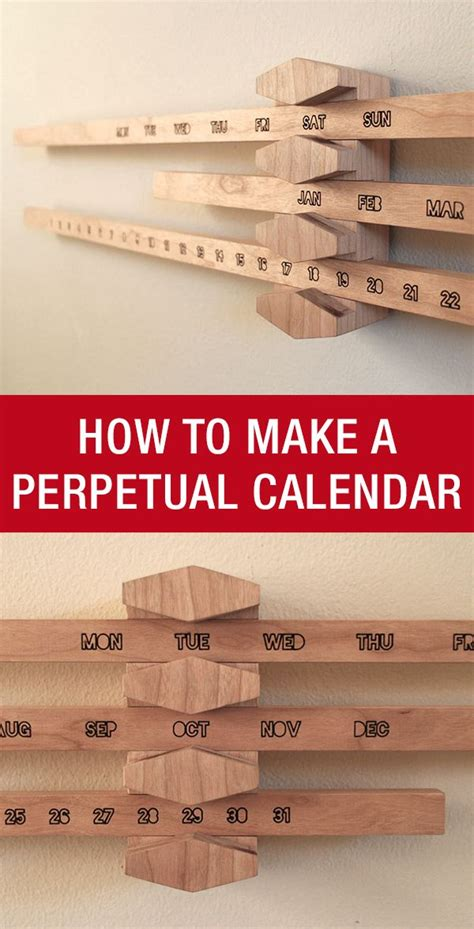 how to make a perpetual calendar 17 best images about woodworking projects that sell on