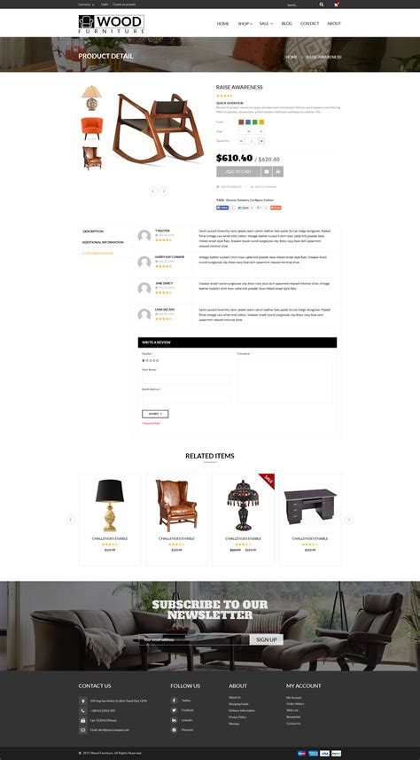 shopify themes parallax parallax shopify theme wood furniture decoration by
