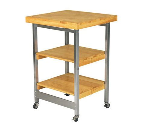 folding kitchen island oasis folding kitchen island page 1 qvc
